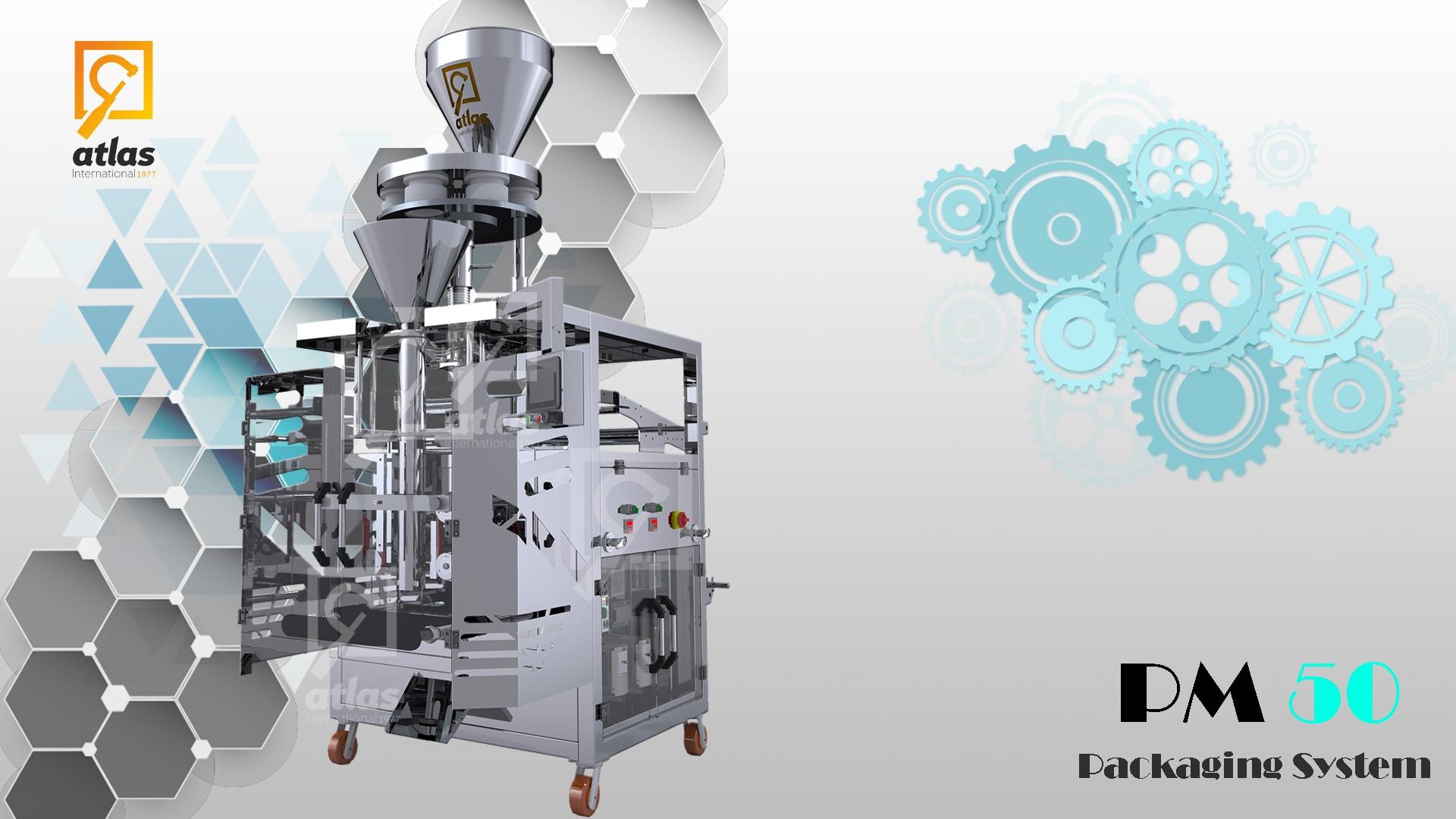 Dolum ve Paketleme Makinası Tahıllar dolum makinesi PM 50