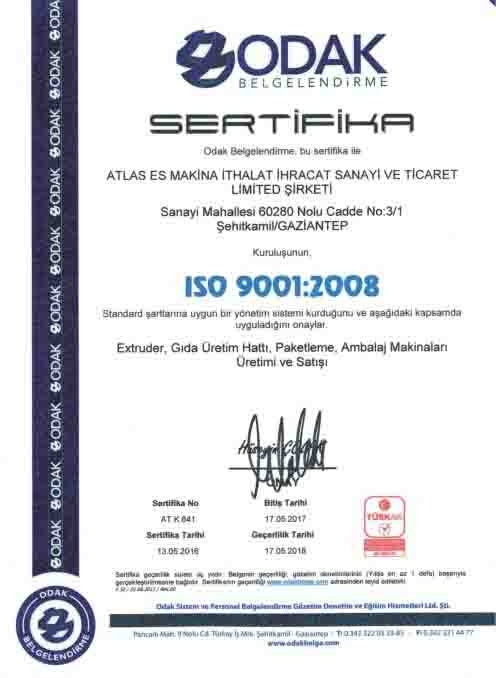 ISO 9001 IN TURKEY