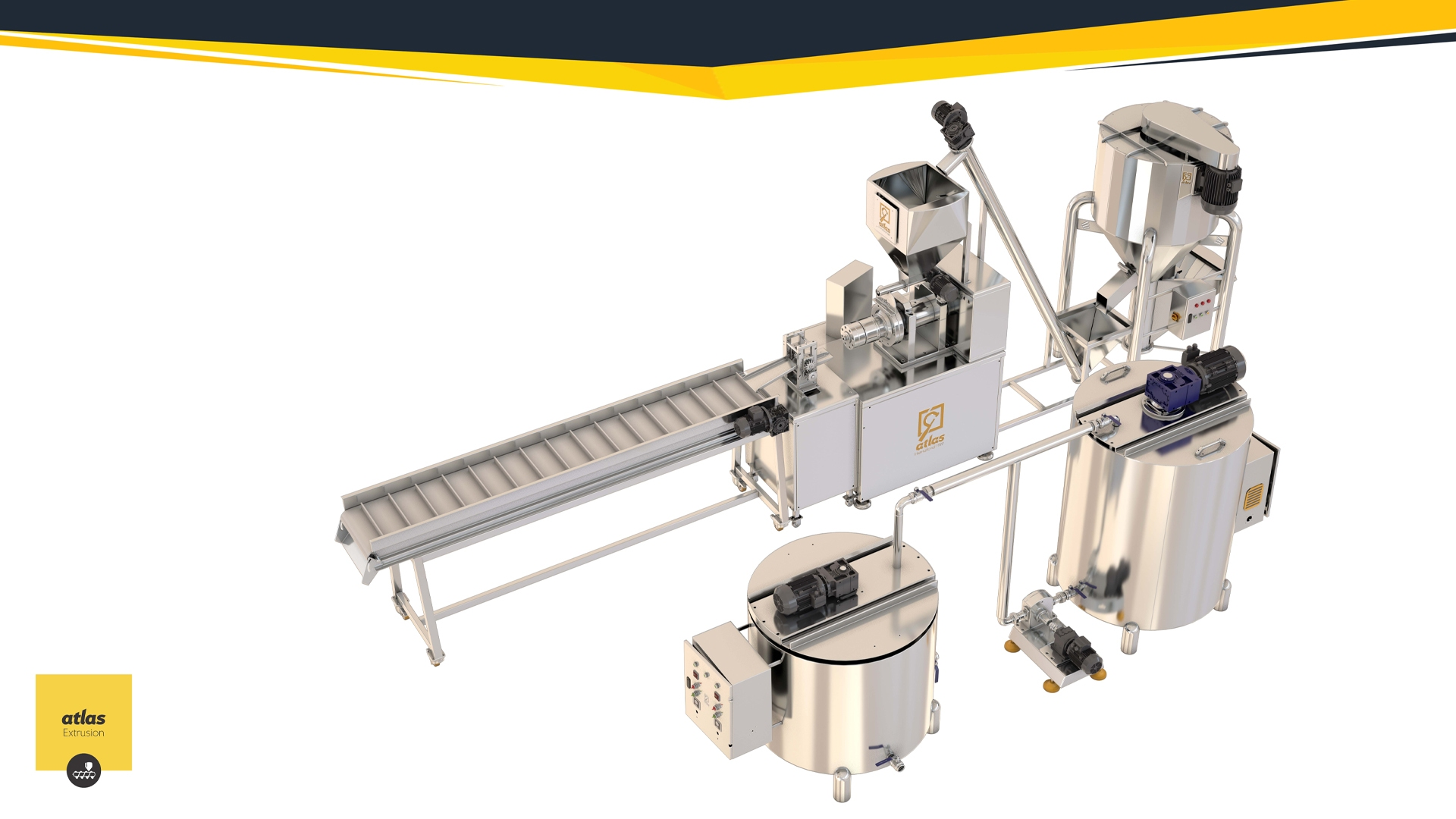 EXN 150 - Stuffed Corn Chips Production line