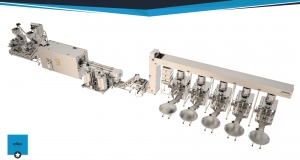 Model: EXFV 435-,  350-400  / h corn chips production line with five v..