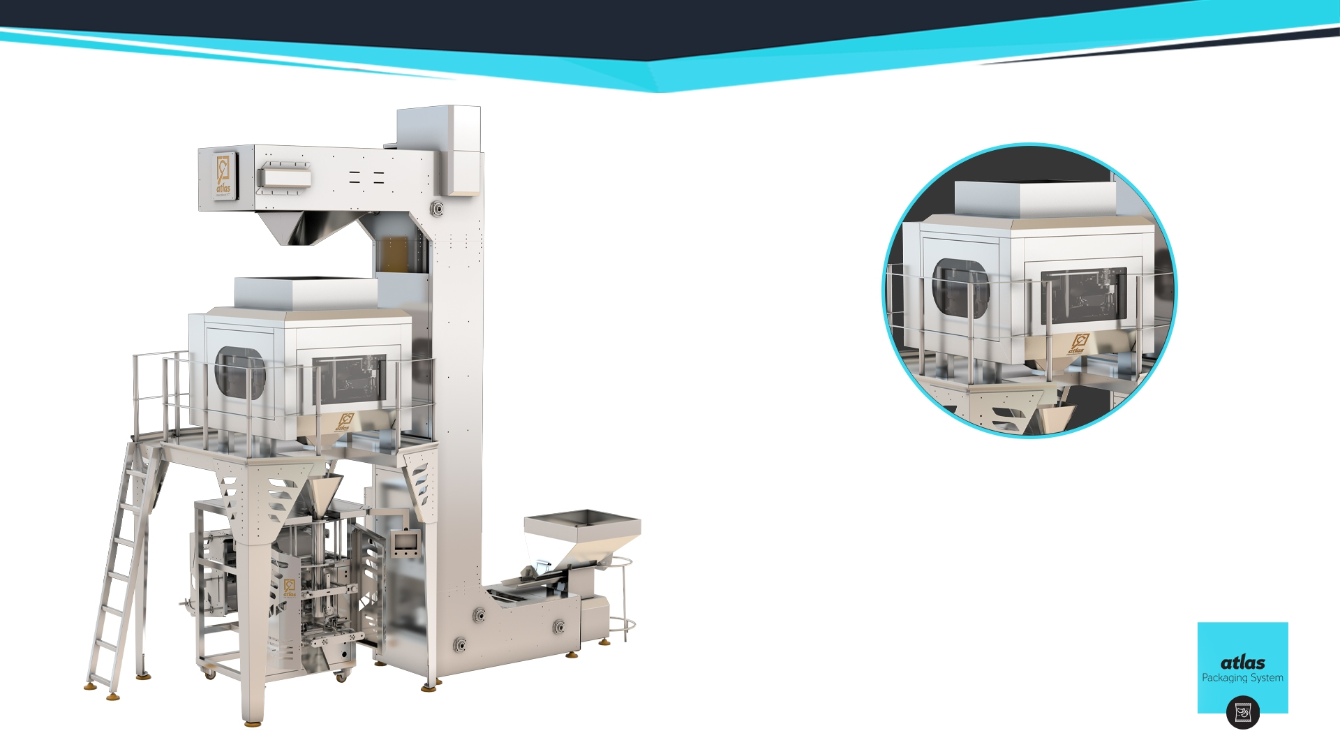 Weighing and packaging machine - filling all kinds of cereals and legumes - sugar - rice - detergents
