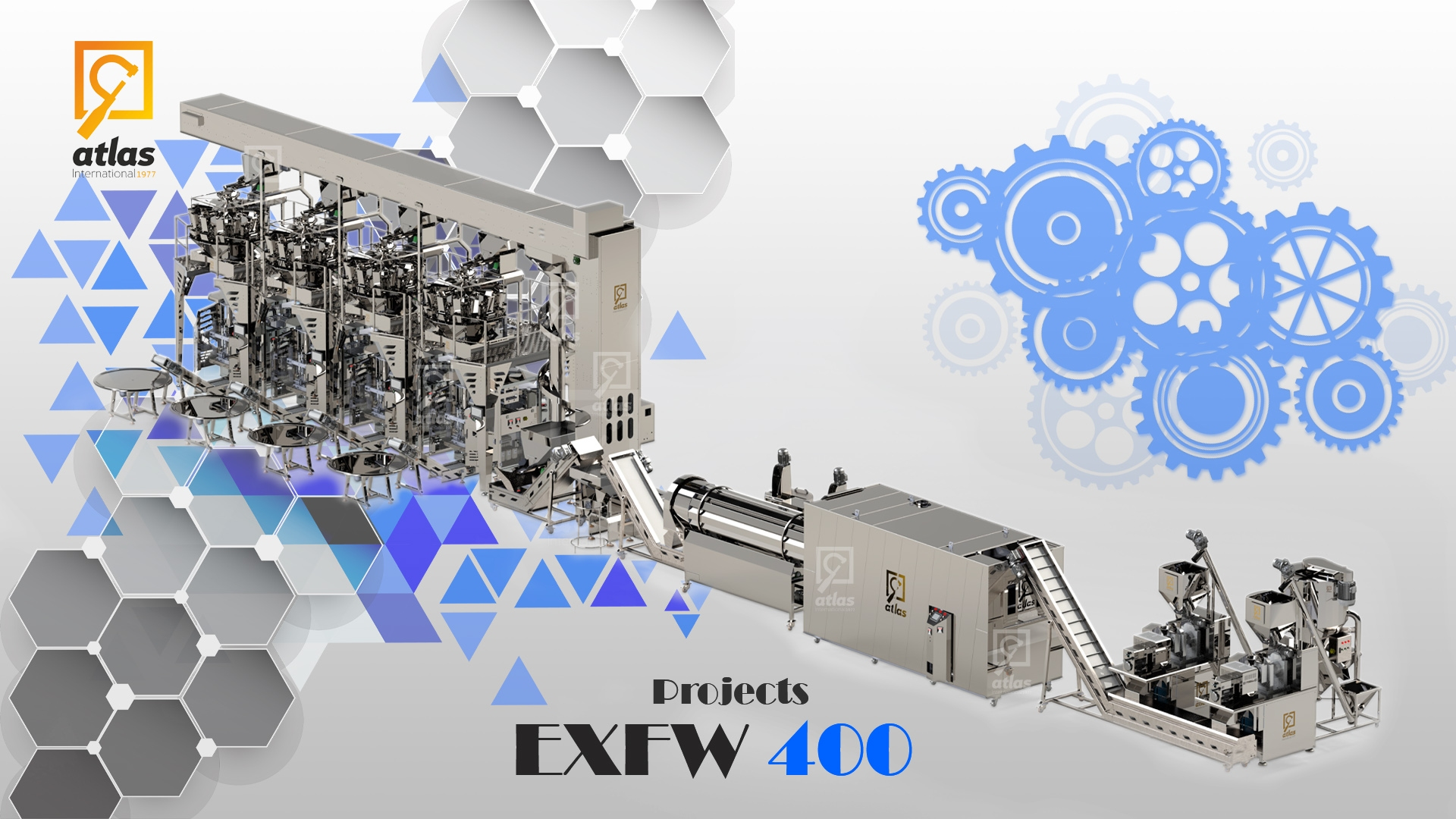 Second Project Full Automatic Chips Production & Filling Line EXFW 400